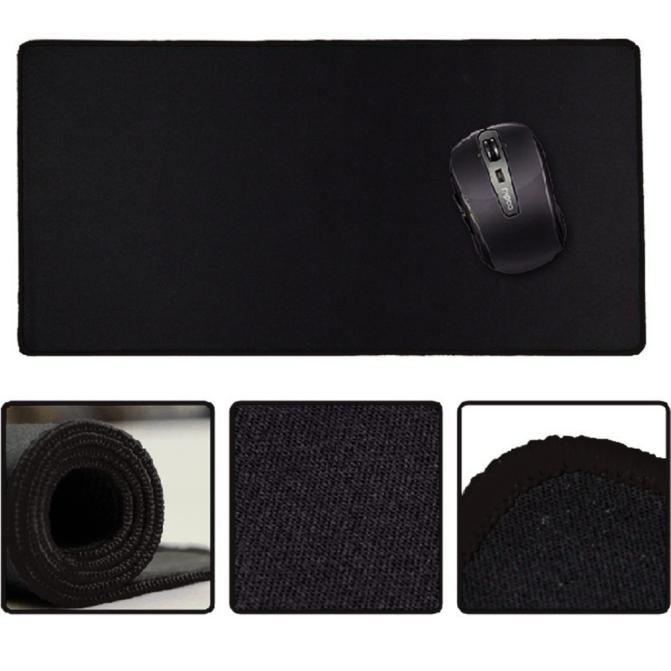 23.62 x 11.81 x 0.08  Rubber Gaming Mouse Pad
