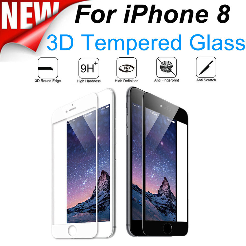 Full Cover Tempered Glass Protector Film For iPhone 8 4.7 inch   5.5 i 5dca958f8e7a