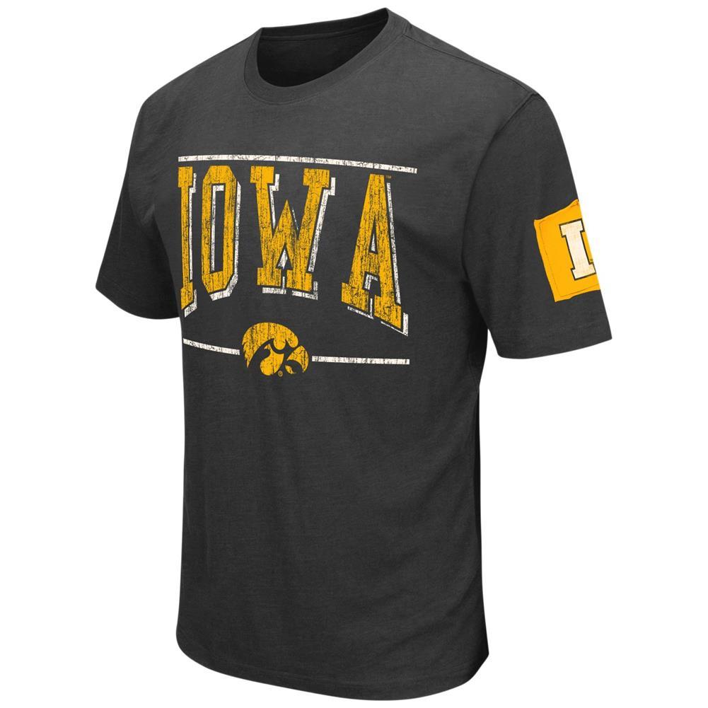 University of iowa hawkeyes men 39 s t shirt short sleeve for University of iowa shirts