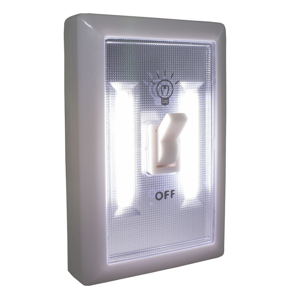 4-Pack Portable LED Ultra Bright Light Switch - Stick Anywhere