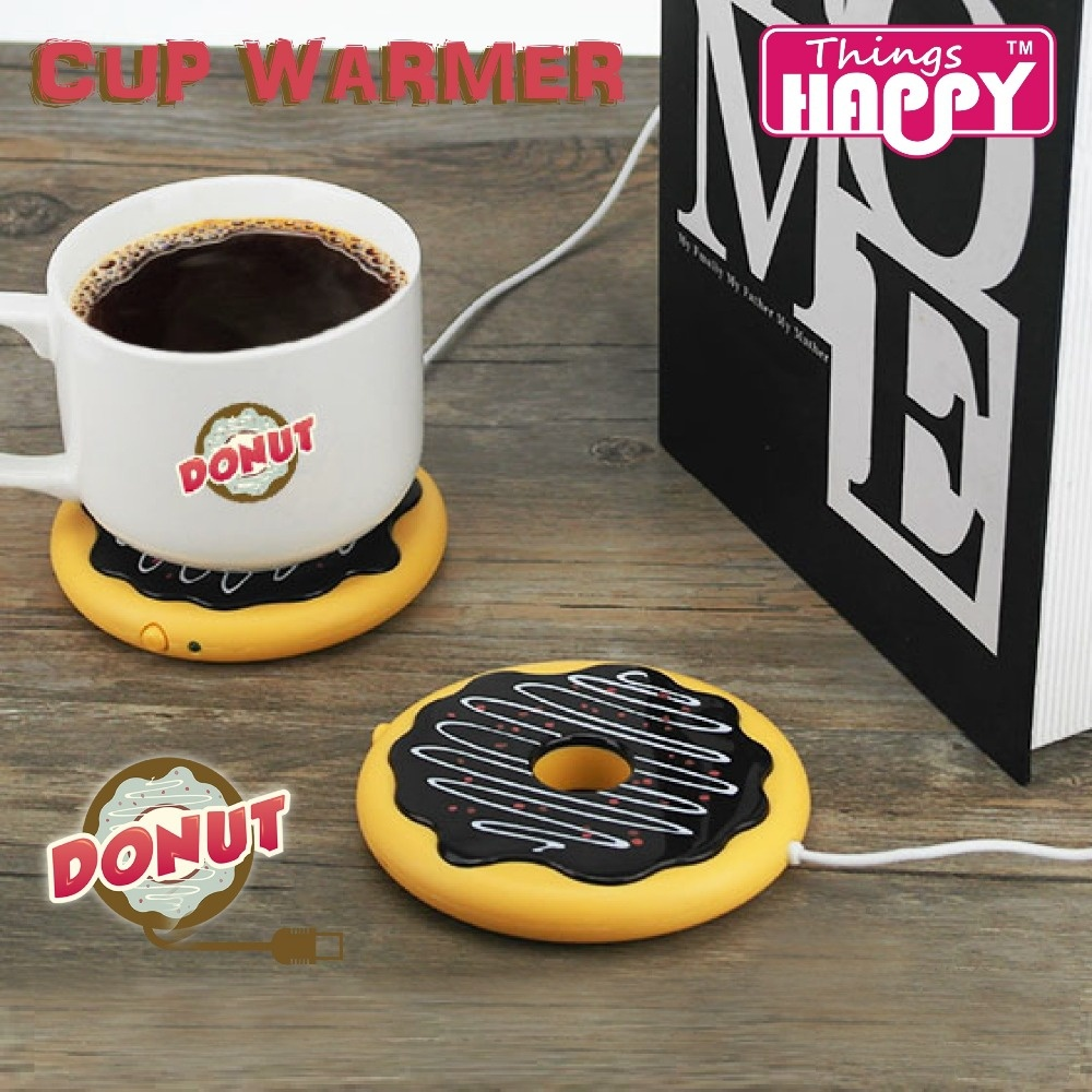 Donut Cup Warmer Coaster USB Powered 6468007