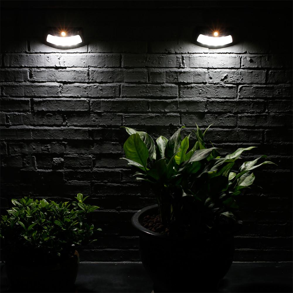 4 LED Solar Light Control Lights Solar Wall Lamp Staircase Lights Bron