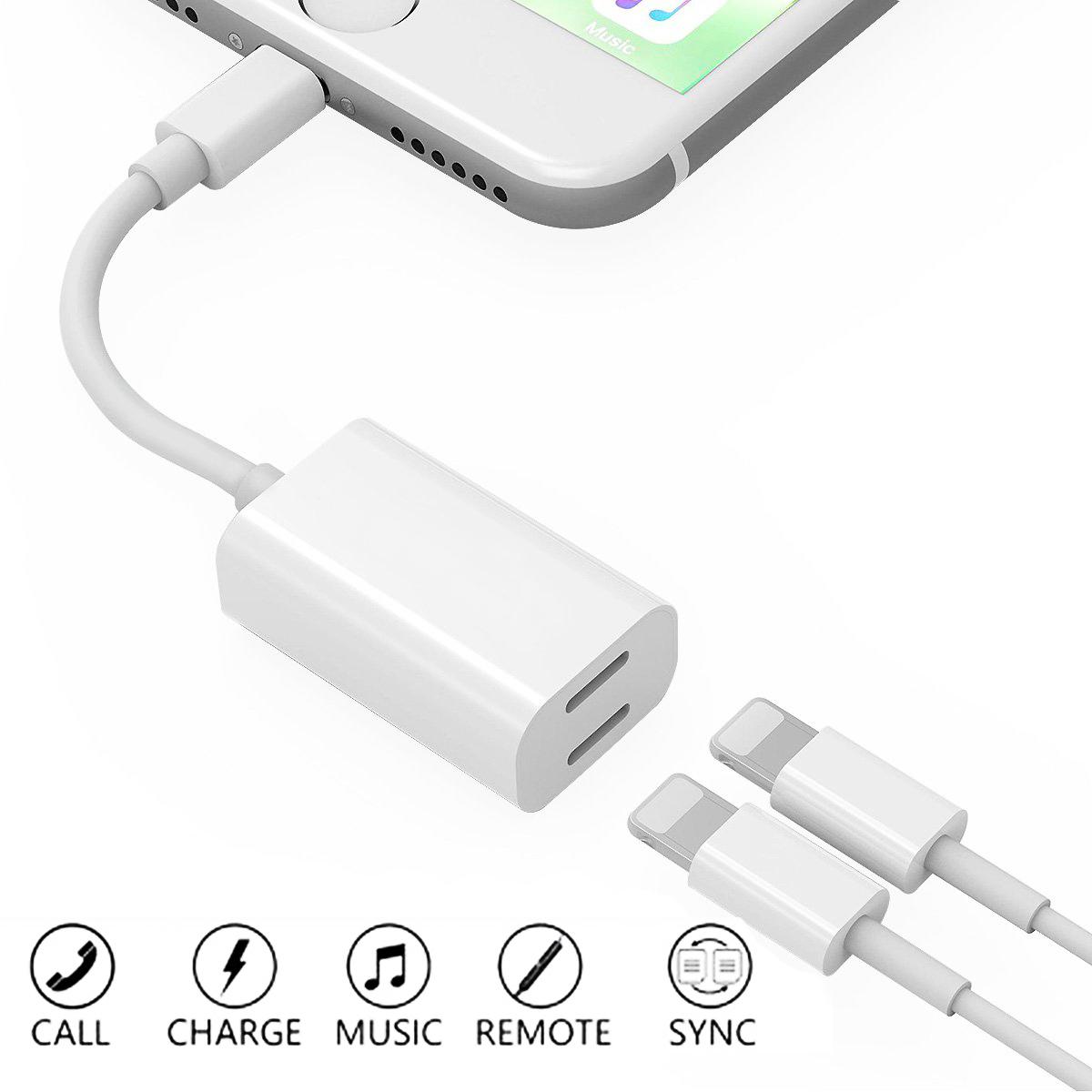 Iphone 7 earphones adapter - original iphone 6plus earphones