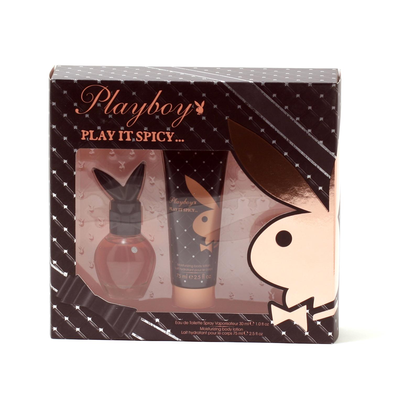 Playboy Play It Spicy Ladies 1 Oz Spray  2.5 Oz Body Lotion