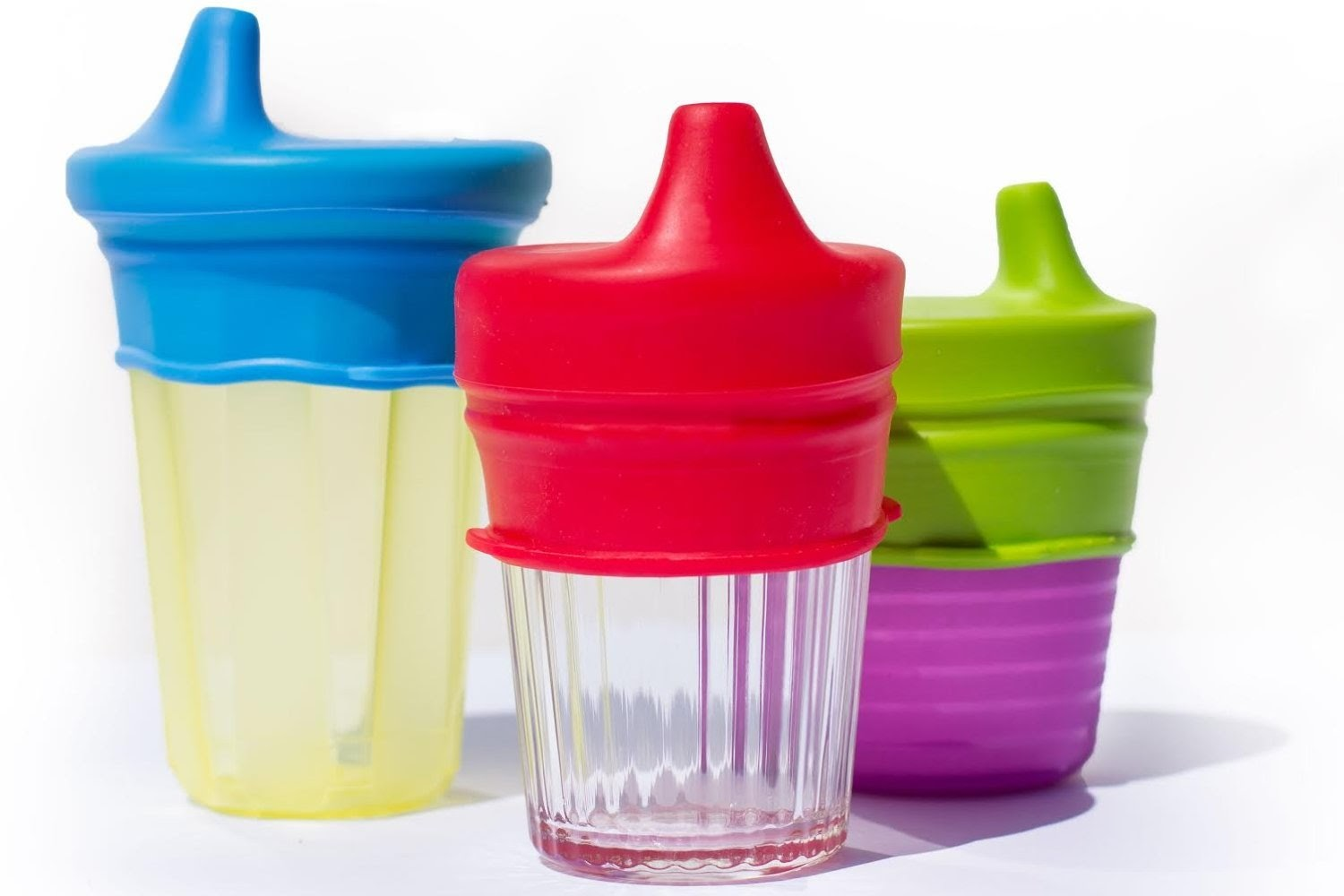 6 Pack of O-Sip! Silicone Sippy Lids a8fbadb9c26a