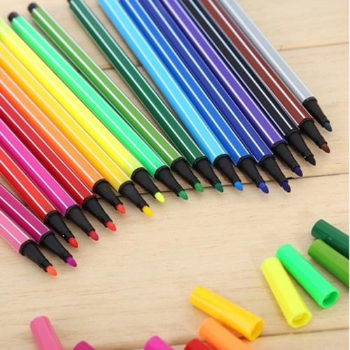Marker Set 24 Colors Water Color Pen Painting Pencils
