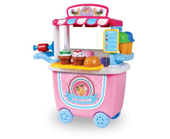 14-Piece Ice Cream Cart Playset 11227511