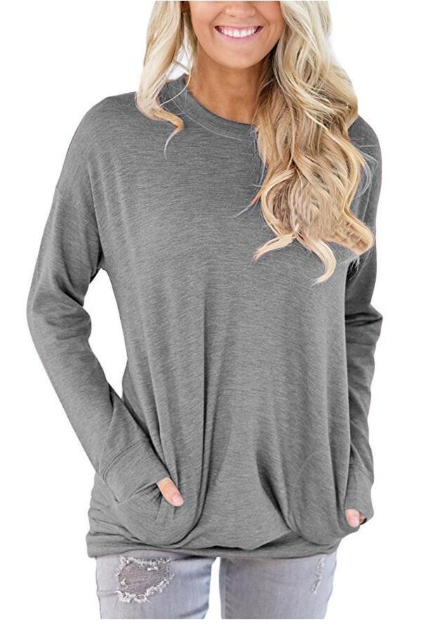 Solid Long Sleeve Shirt 946600a51a6b