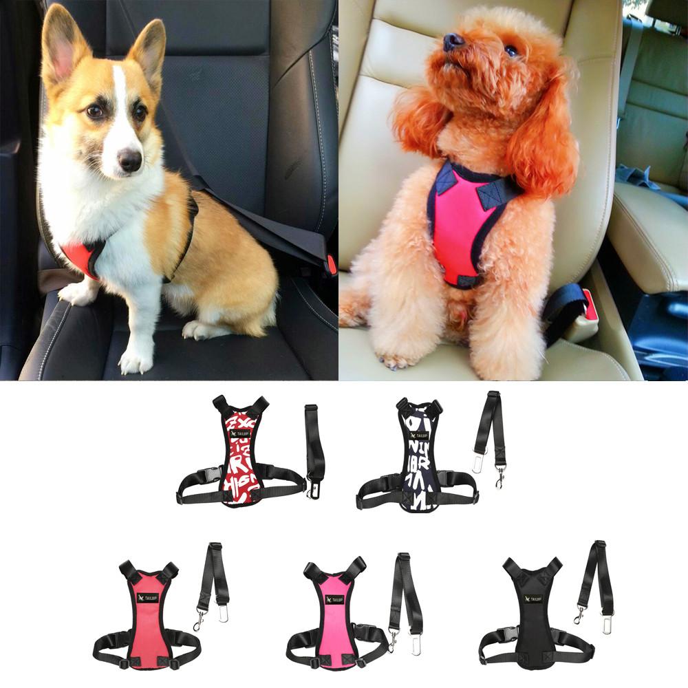 Soft Dog Car Safety Belt w  Comfortable Strap