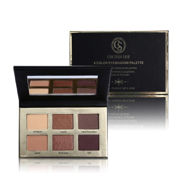 6 Color Matte Natural Eye Shadow Palette 7125302