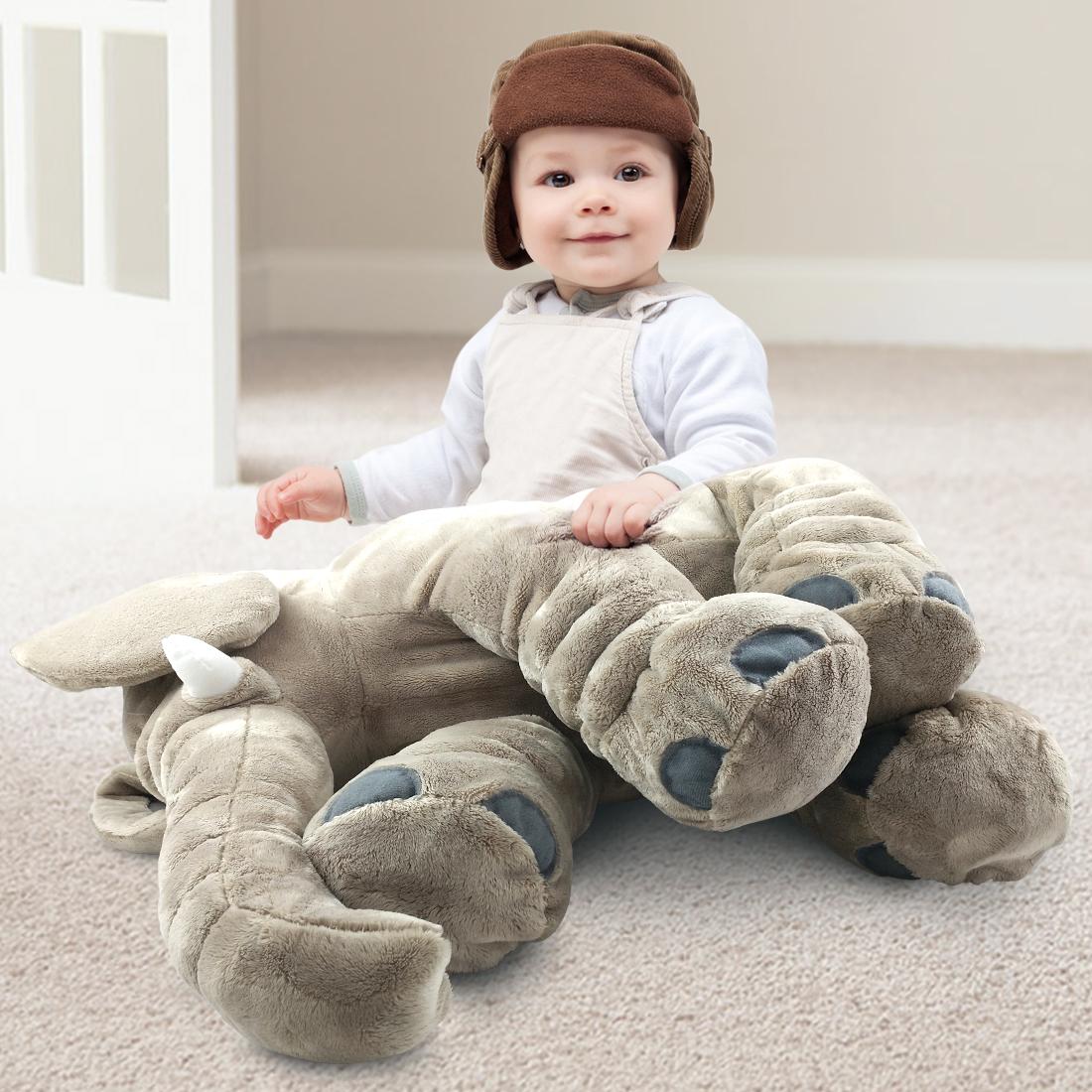 Giant 24 Quot Stuffed Elephant Cute Soft Plush Cuddly Fluffy
