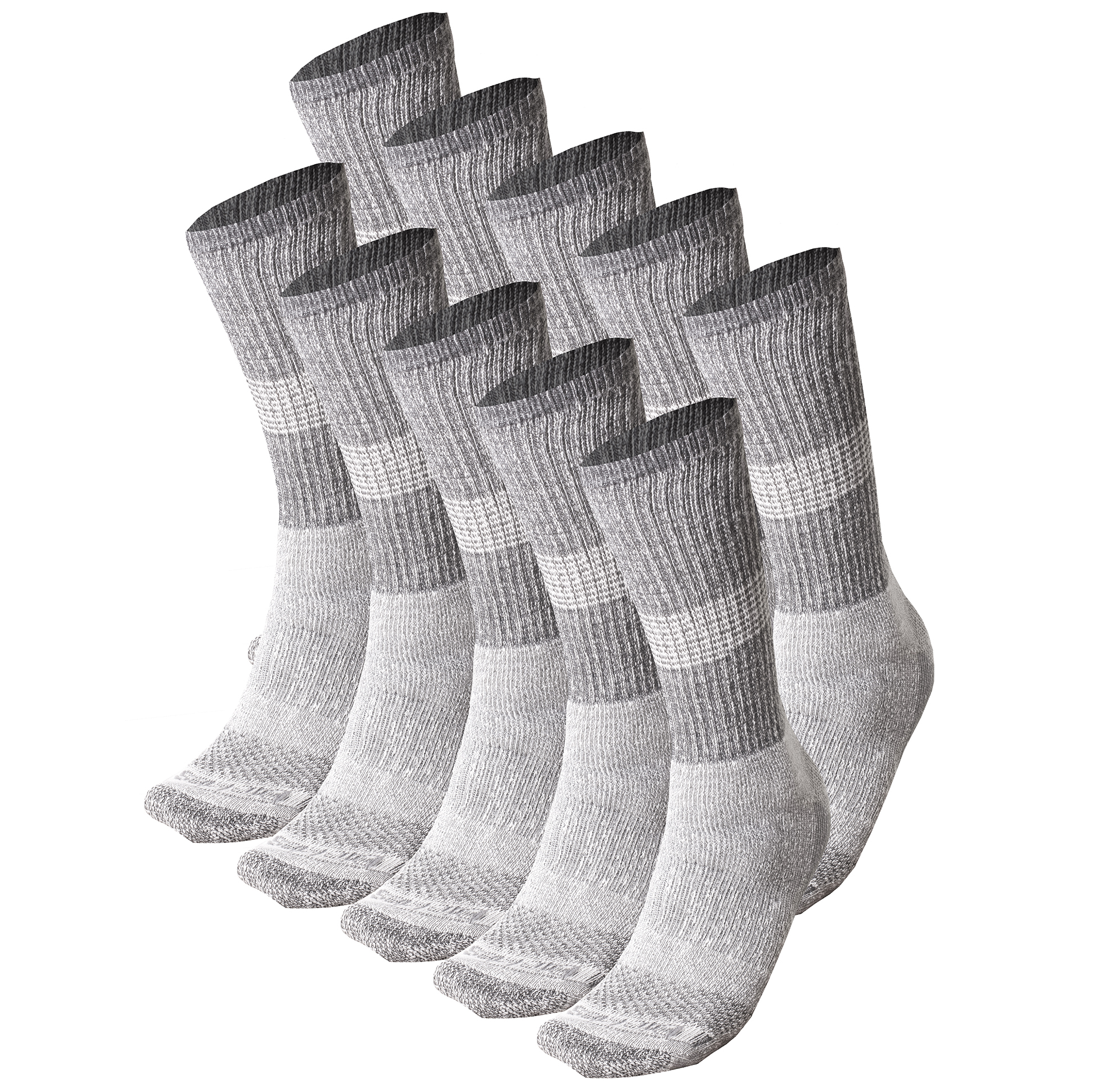 5 Pairs Dickies Heavyweight Dri-Tech Compression Work Socks
