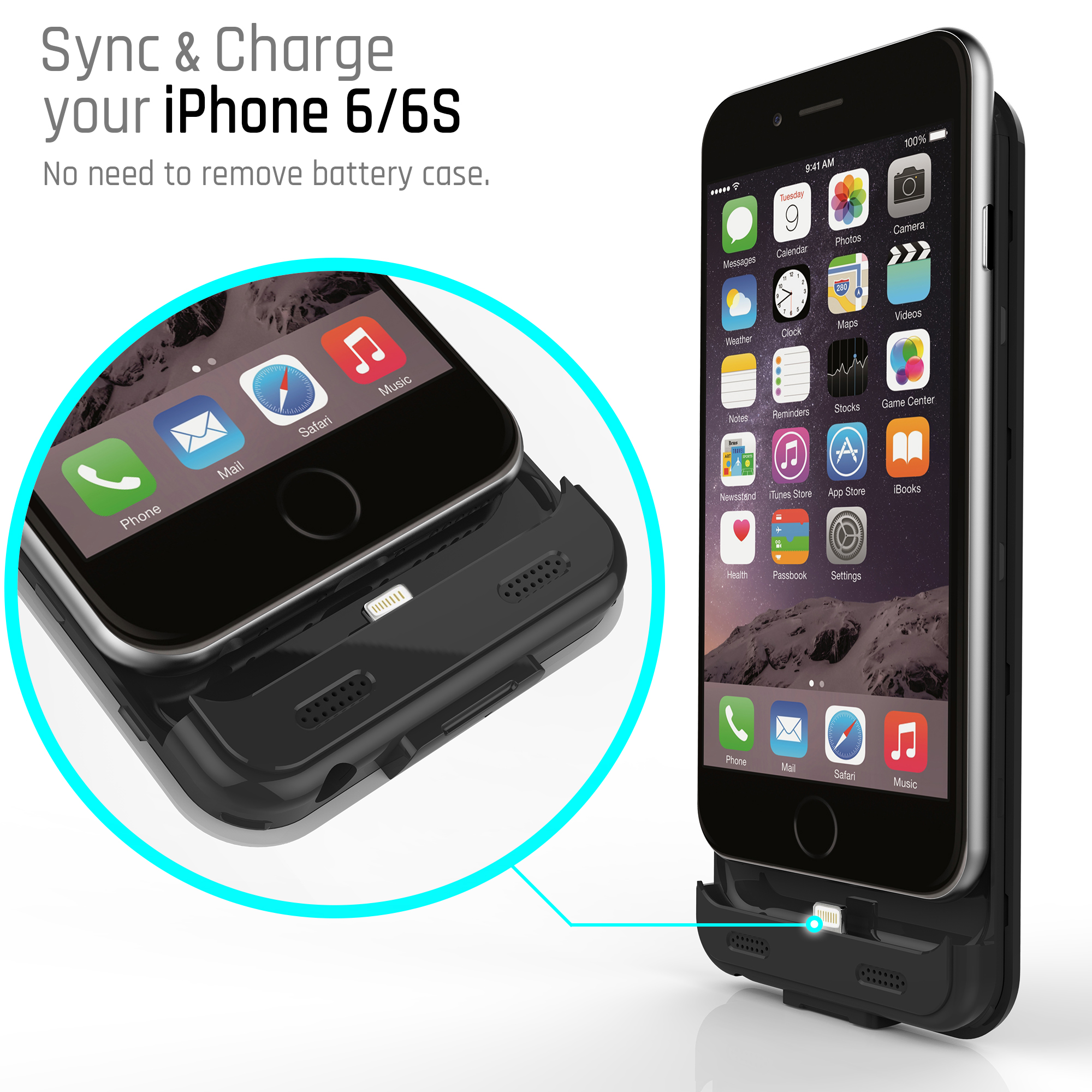 Stalion Stamina Extended Rechargeable Battery Case for ...