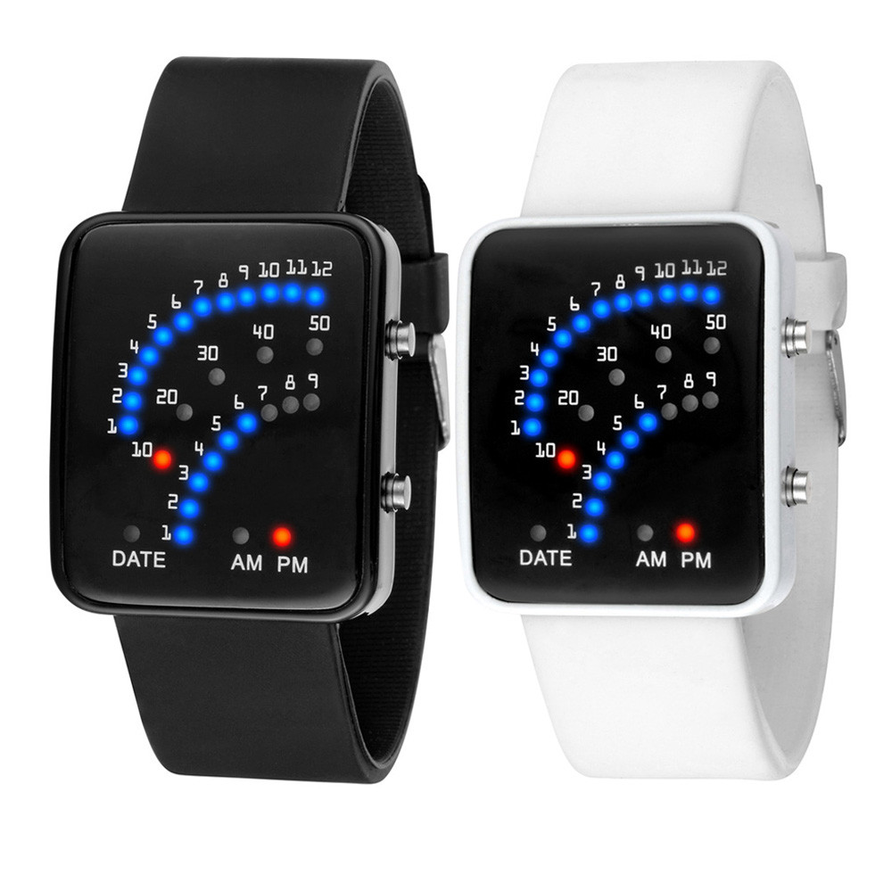 Unisex Japanese Style Multicolor LED Sport Watch - Choose Your Color 8f3d0c9cfaf4