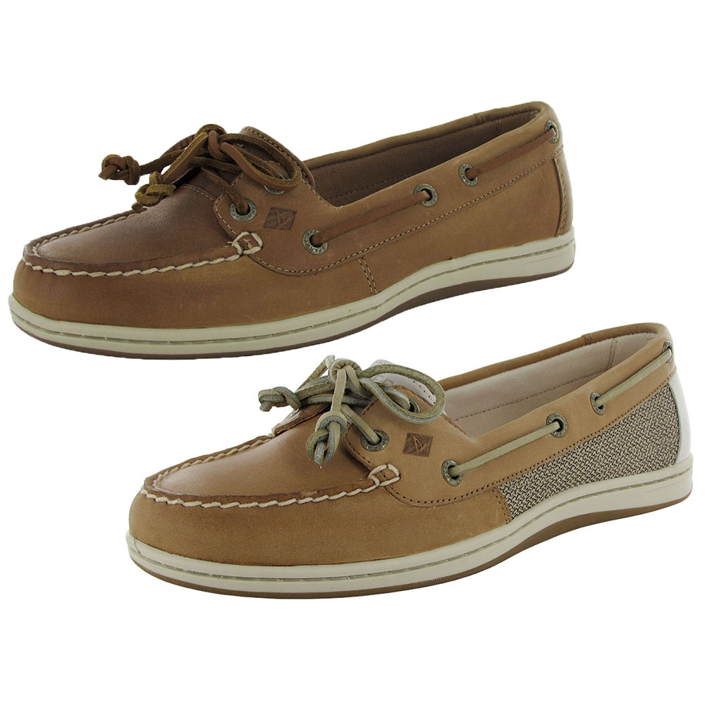 Womens Boat Shoes Low Vamp