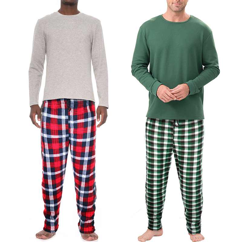 Multiple Pack Mystery Deal  Men s Essential Plaid Fleece Lounge Pants