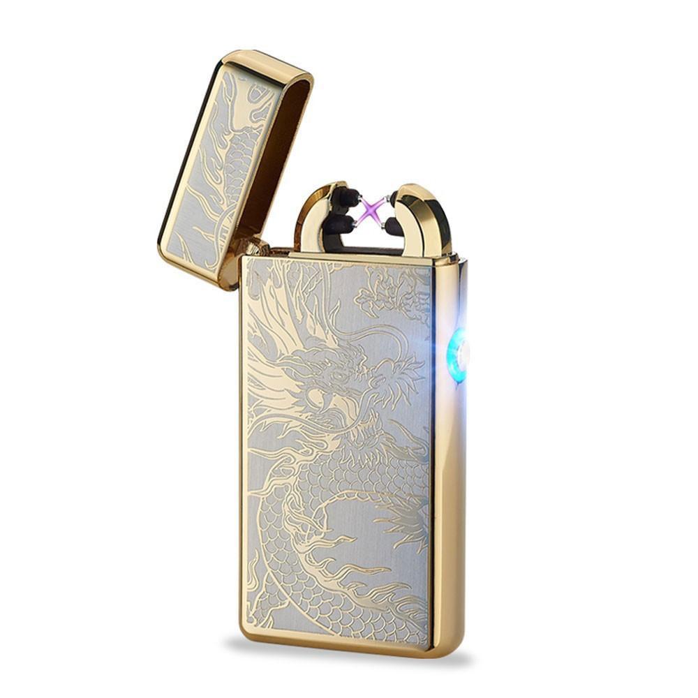 Golden Dragon Rechargeable Lighter