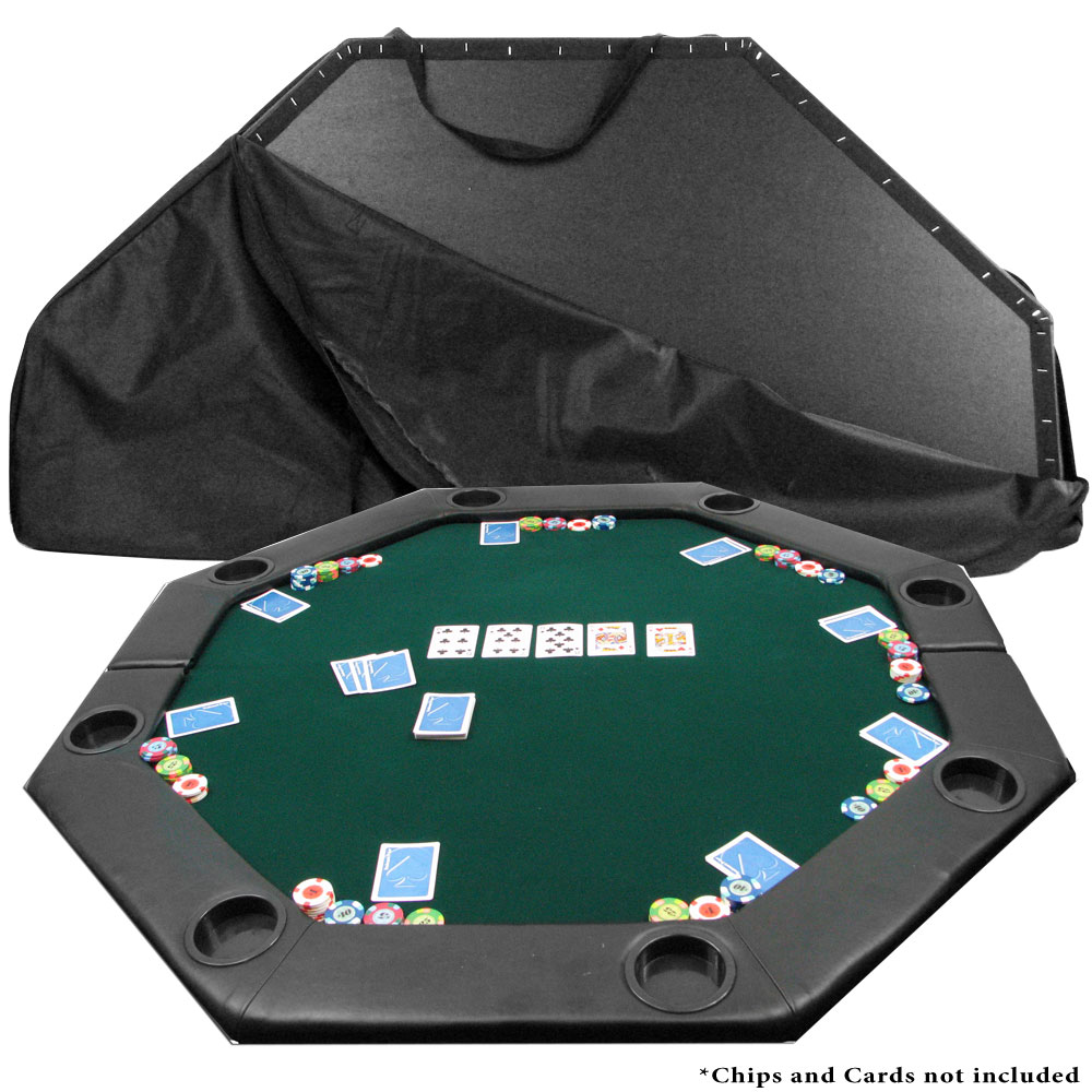 Tabletop Octagon Padded Poker Table - 51 x 51 5690411