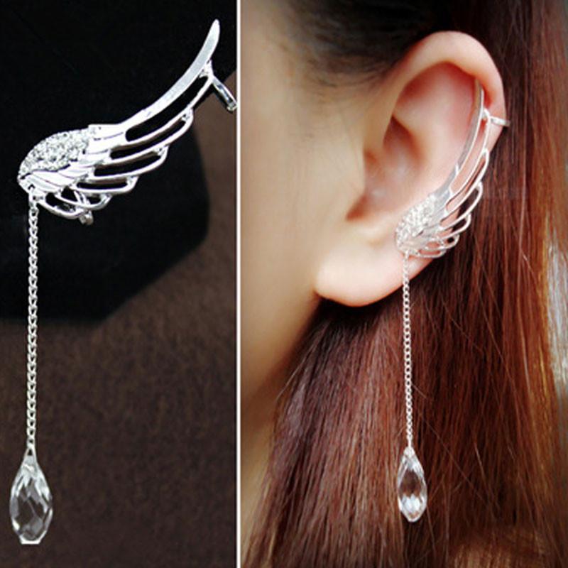 Metal Dragon Ear Wrap Clip Earring