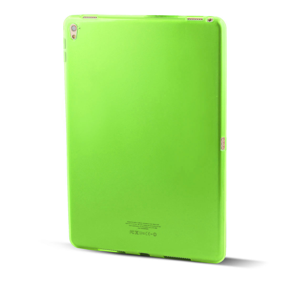 rear skin case protector shell cover clear green for ipad pro 9 7 inch tanga. Black Bedroom Furniture Sets. Home Design Ideas