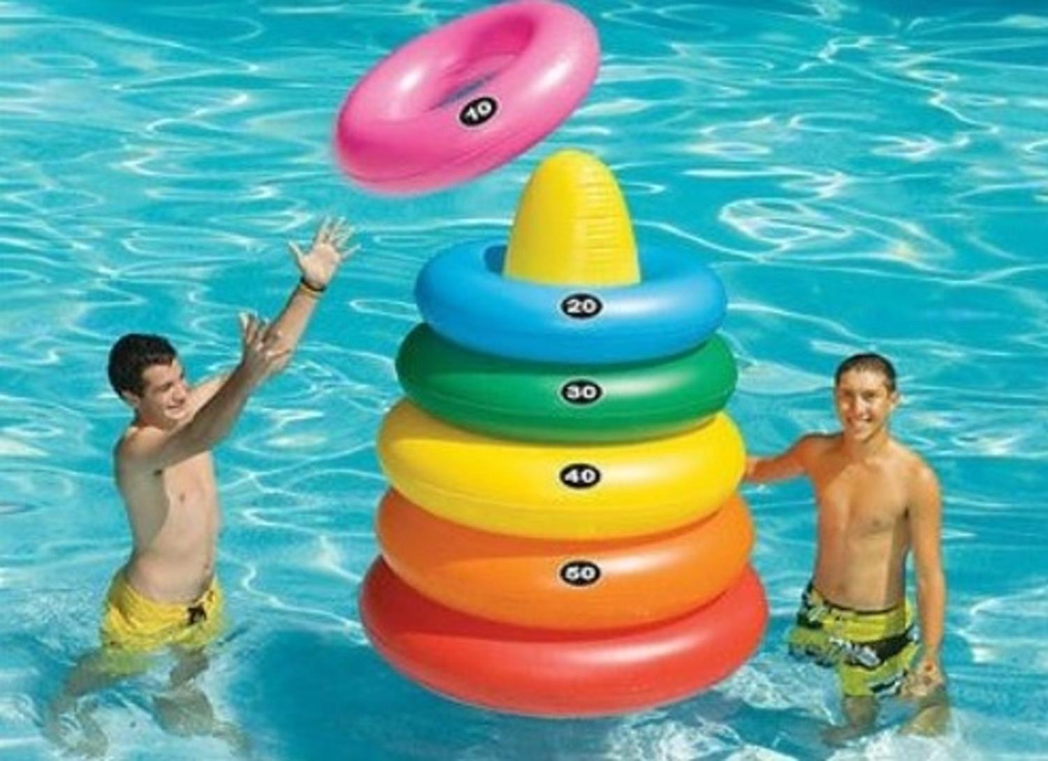 Inflatable Ring Toss Target