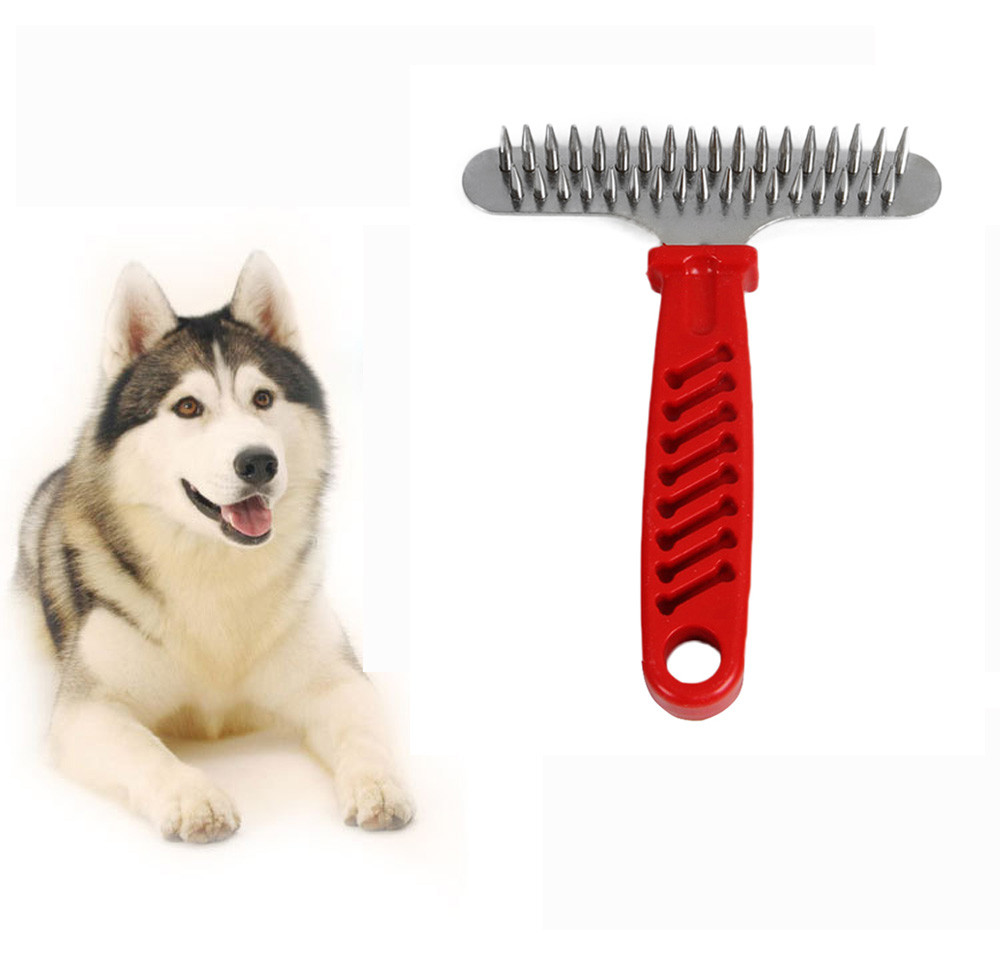 Pet Fur Shedding Remove Grooming Rake Comb Brush Dog Cat Hair 11f842c1feae