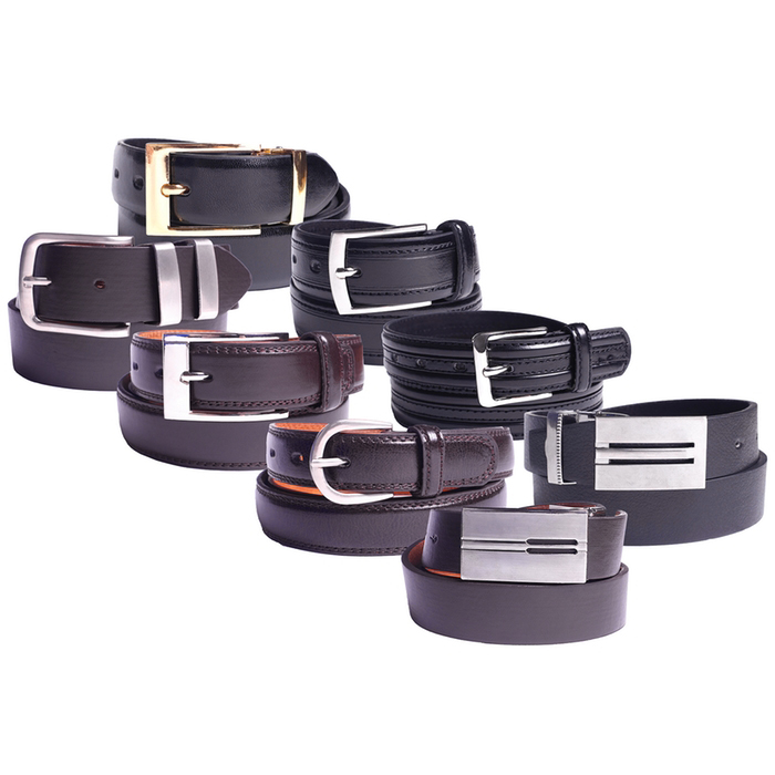 2-Pack Mystery Deal  Men s 100% Genuine Leather Belts