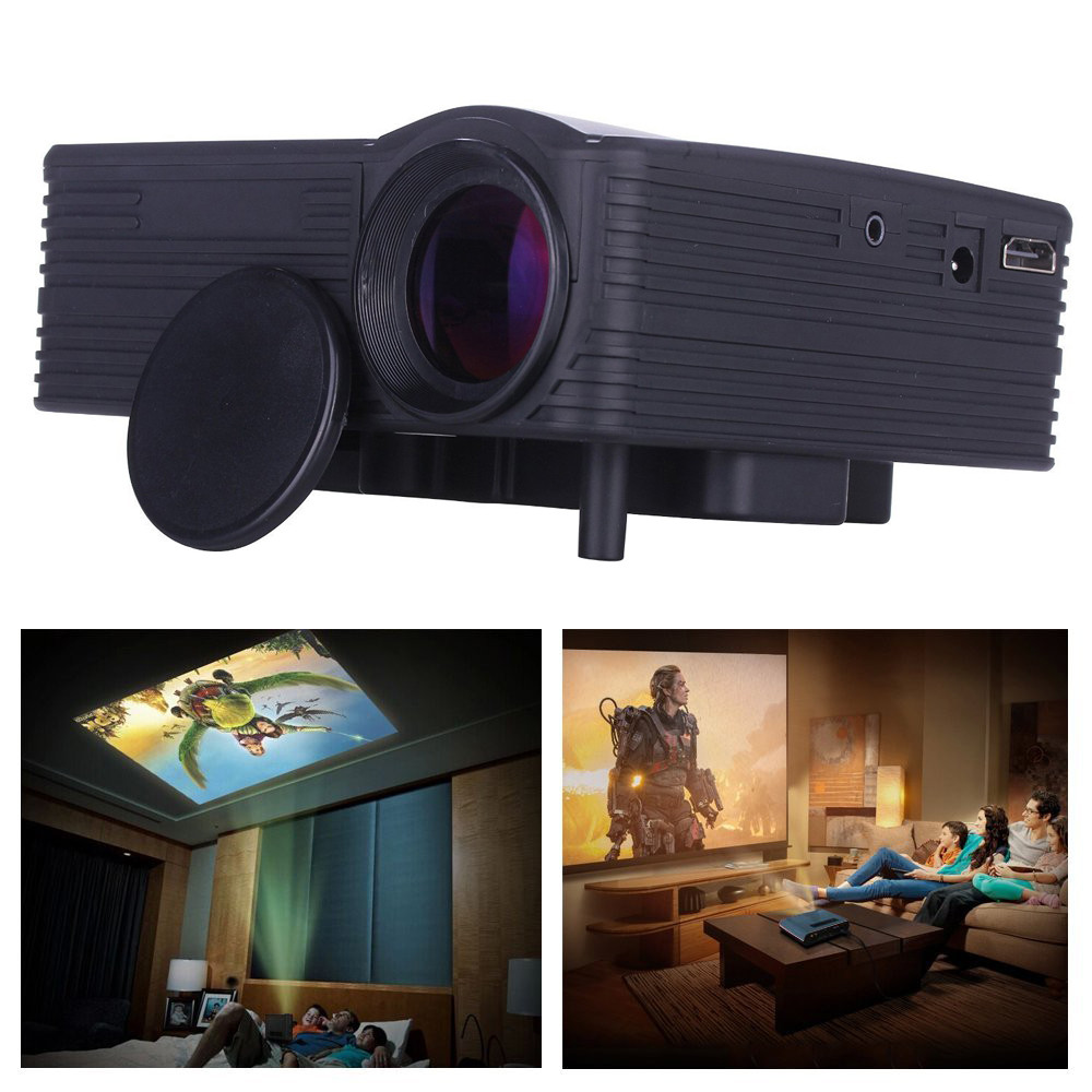 1080p hd home cinema theater multimedia led projector tanga. Black Bedroom Furniture Sets. Home Design Ideas