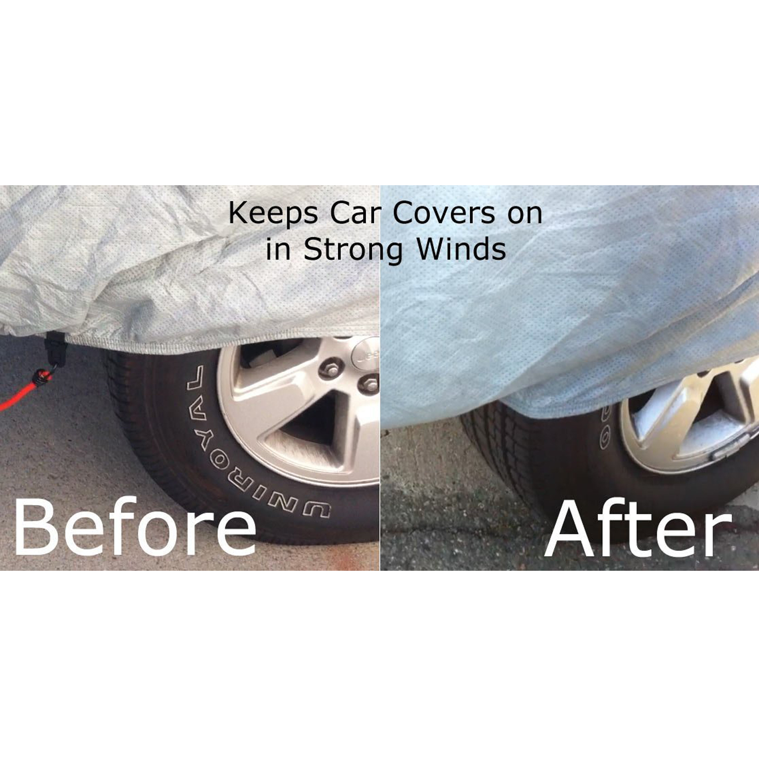 Car Cover Lock Kit : Magicfly car cover straps wind protector gust guard cable