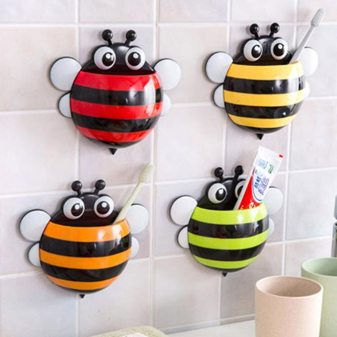 Cute Bee Suction Toothbrush Holder 213bf852491d