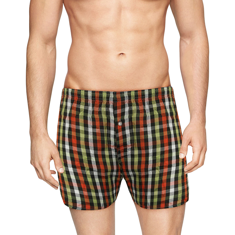 6-Pack Mystery Deal  Mens Plaid Boxer Shorts (S-3X)