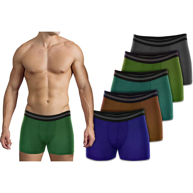 6-Pack Mystery Deal  Men s Exclusive Stretch Waistband Boxer Briefs