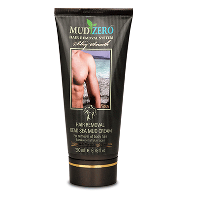 MudZero Dead Sea Hair Removal Cream for Men 6533633