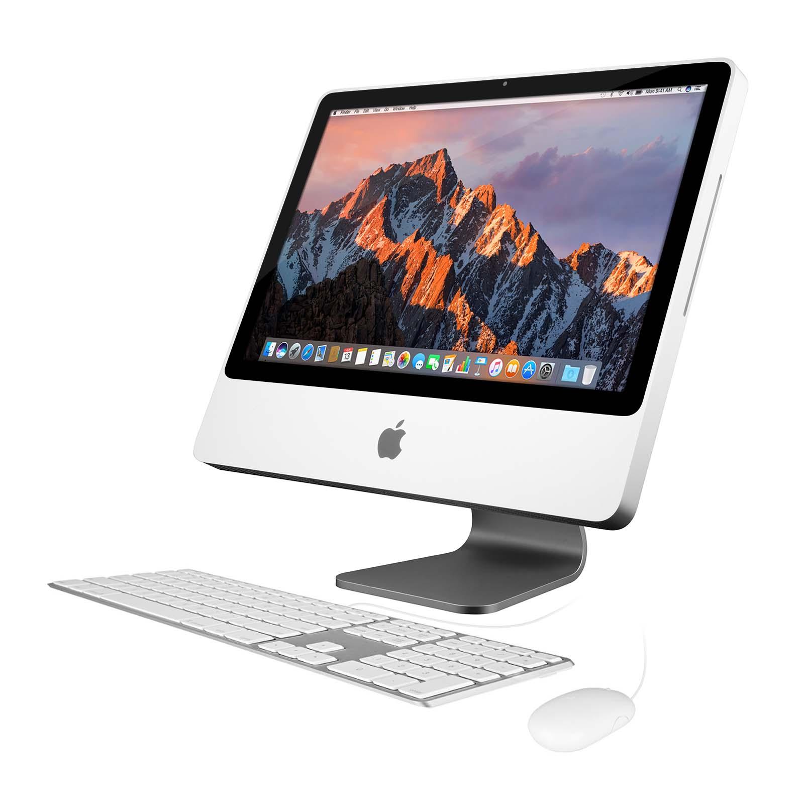 "Apple 20"" iMac MA877LL/A, Core 2 Duo 2.4 GHz, 250GB HDD ..."