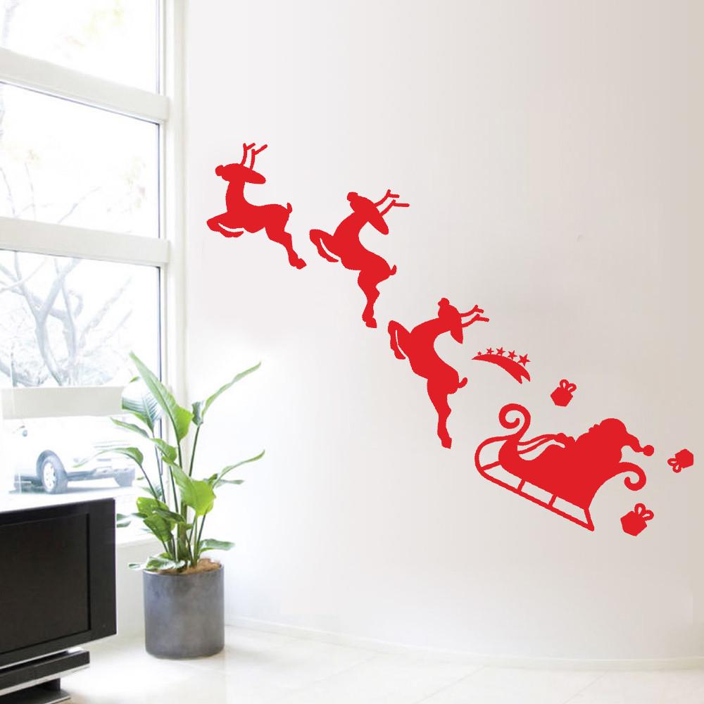 Christmas Decoration Decal Window Stickers Home Decor Tanga