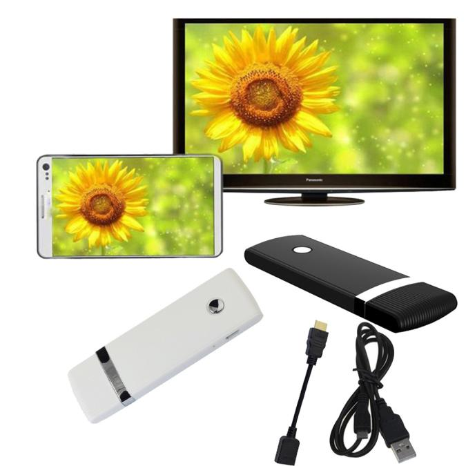 Miracast Wifi Display TV Dongle Receiver HDMI Wireless IPUSH AirPlay D