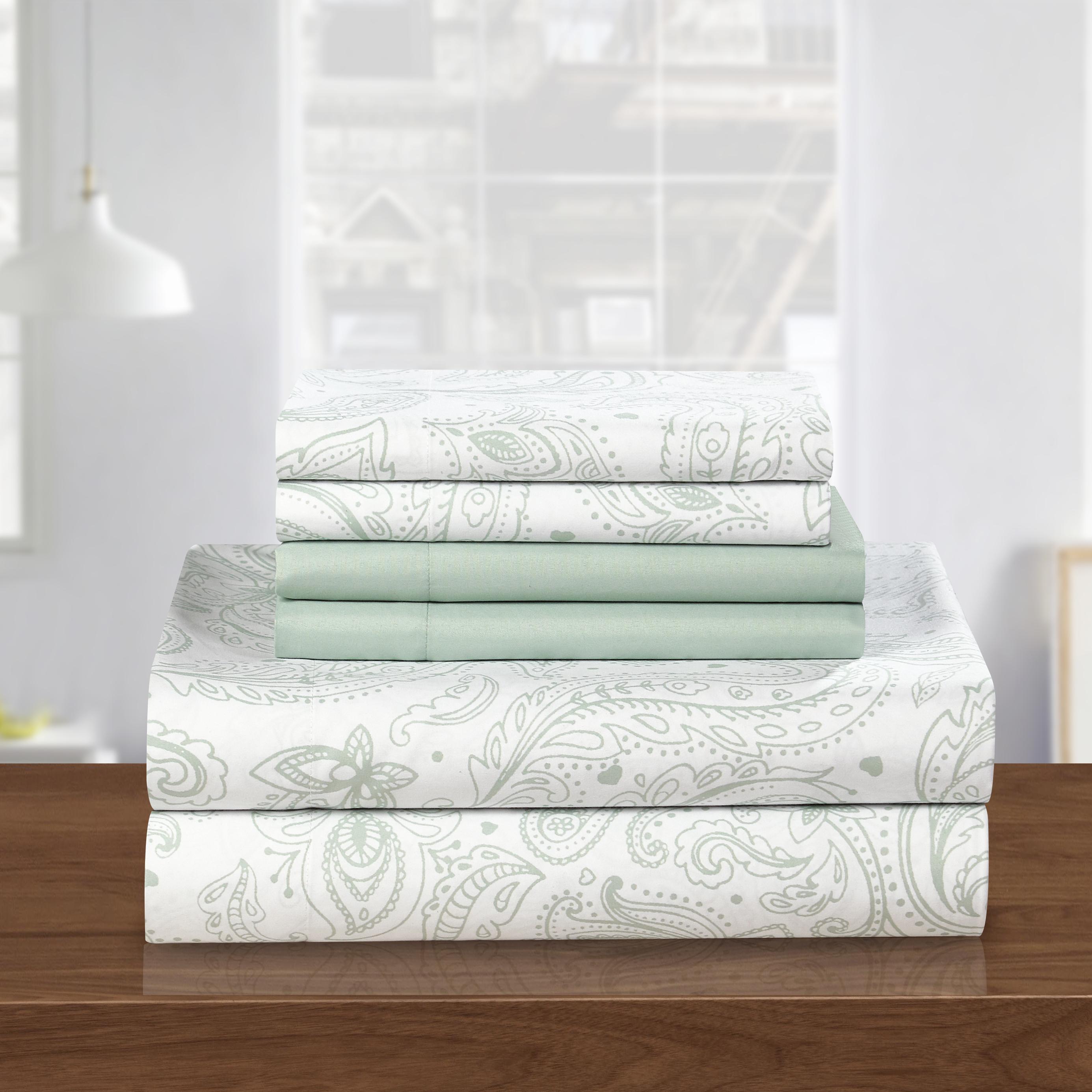 Chic Home Welford Park Super Soft Paisley Sheet Set Tanga