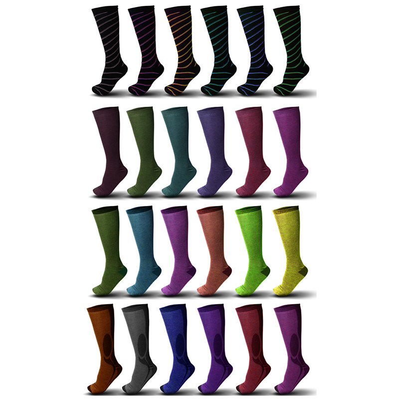 9-Pair Mystery Deal  Ladies Knee High Fashion Socks
