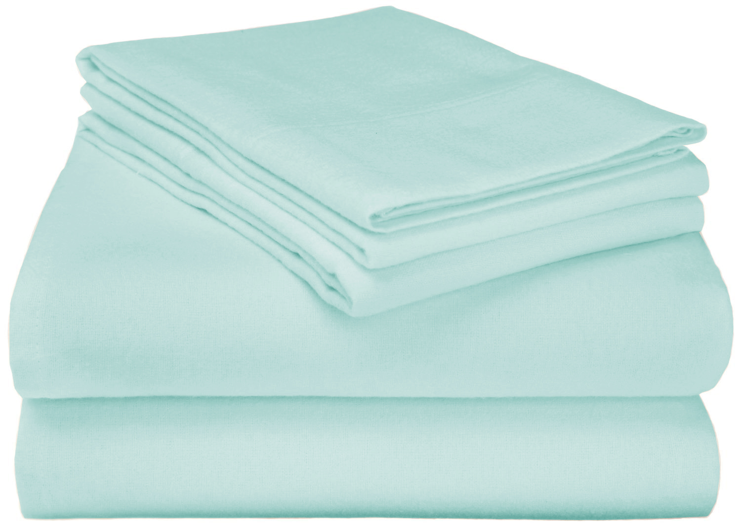 Superior Premium Cotton Solid Flannel Pillowcases Tanga
