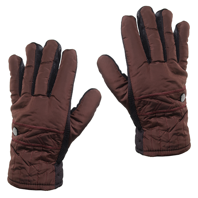 2-Pair Combo  Men s Sherpa Lined Winter Gloves