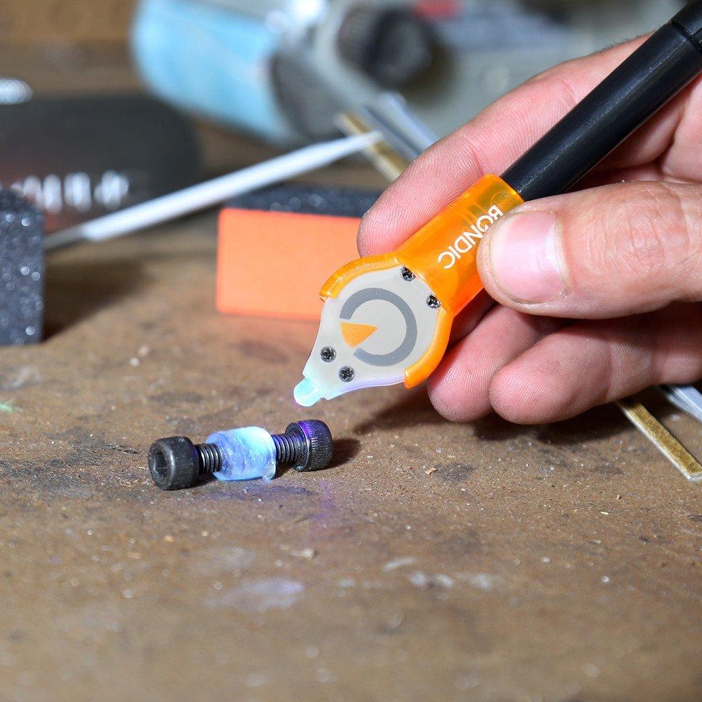 Bondic  UV Glue Starter Kit - Better Than Glue! Waterproof, Heat Resis