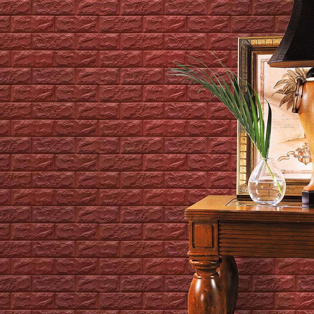 PE Foam 3D Wallpaper DIY Wall Stickers bbe8f84d2843