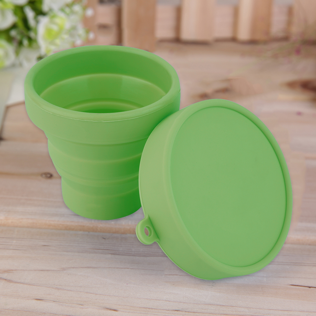Portable Silicone Telescopic Drinking Collapsible Folding Cup 8317443