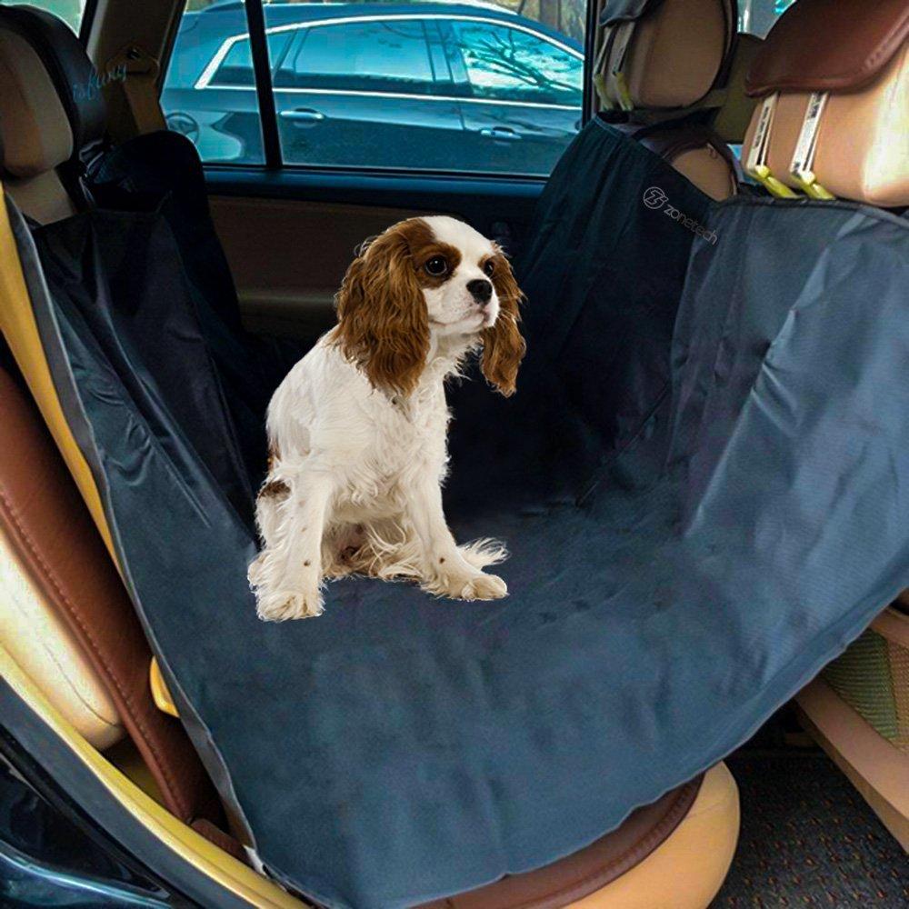 Zone Tech Black Auto Pet Hammock Dog Vehicle Seat Protector