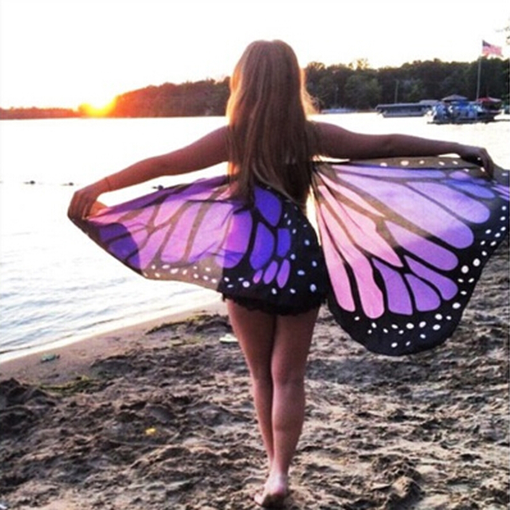 Colorful Fabric Butterfly Wings 9626963