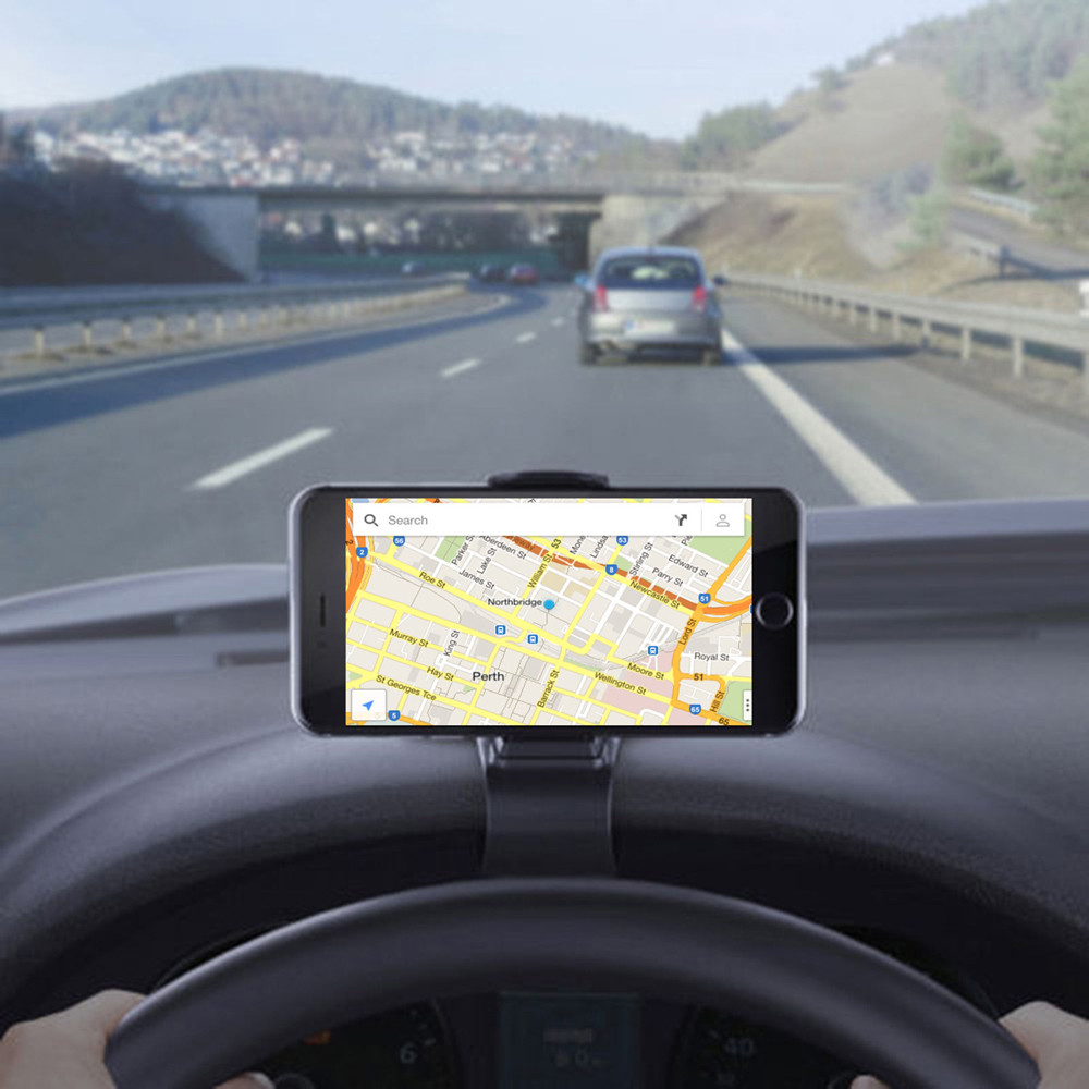 Gps Tracking Device For Cars >> Car Dashboard Cell Phone GPS Mount Holder Stand HUD Design ...