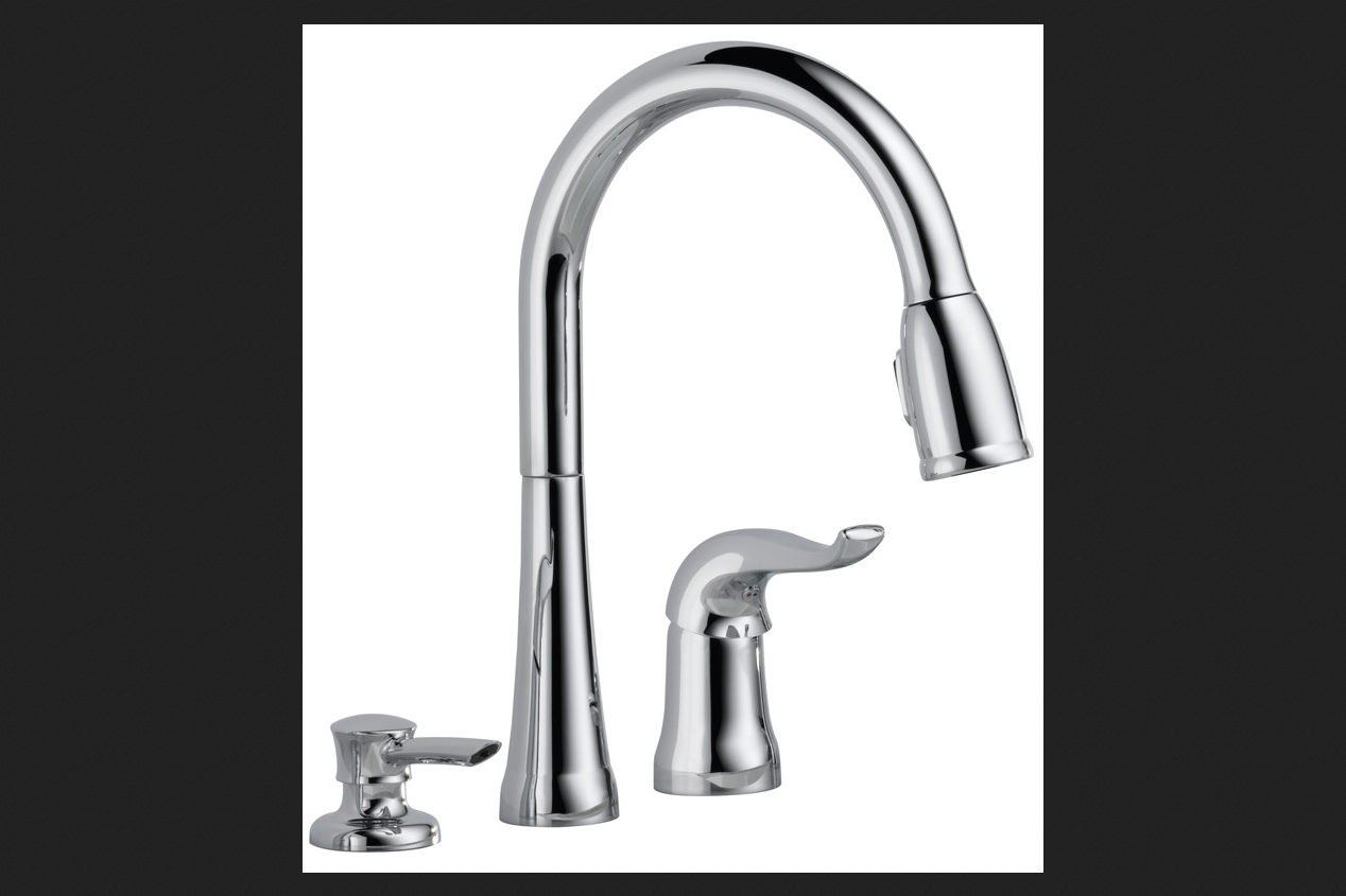Delta Kate One Handle Chrome Kitchen Faucet  Tanga. Kitchen Cupboard Designs Photos. Movable Kitchen Island Designs. Outdoor Kitchen Island Designs. Kitchen Designs Gallery. How Do I Design My Kitchen. Design Kitchen Ideas. Minecraft Interior Design Kitchen. Small Kitchen Island Designs Ideas Plans