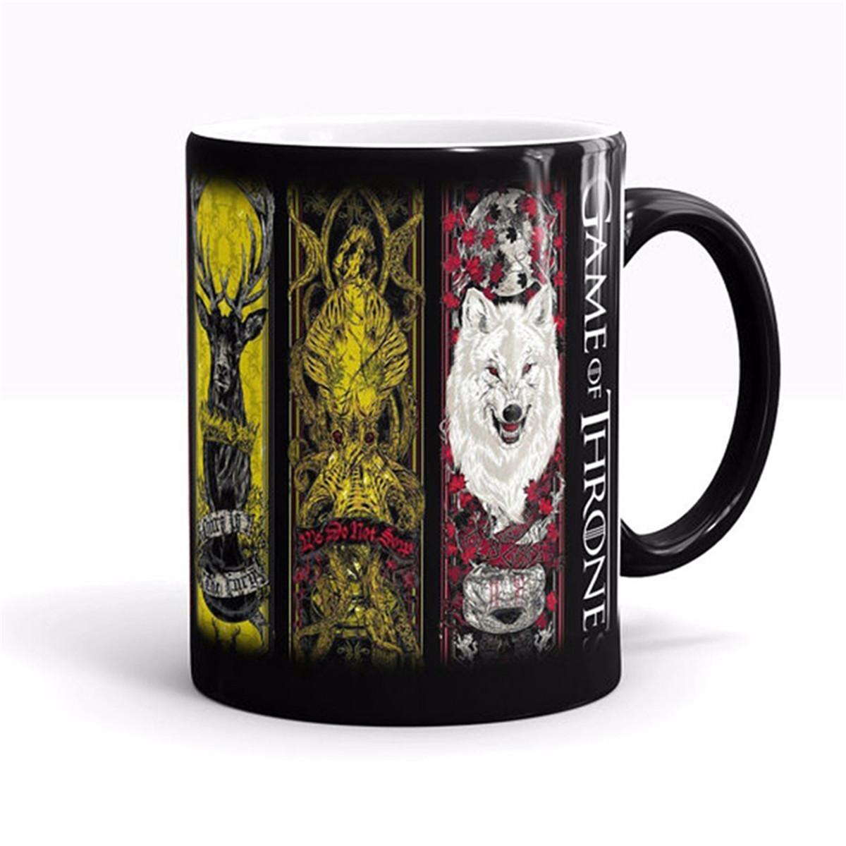 Game of Thrones Heat Sensitive Color Changing Ceramic Mug 11034425