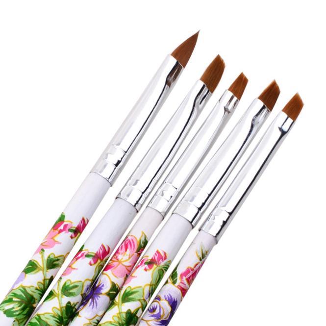 5pcs UV Acrylic Nail Painting Manicure Tool