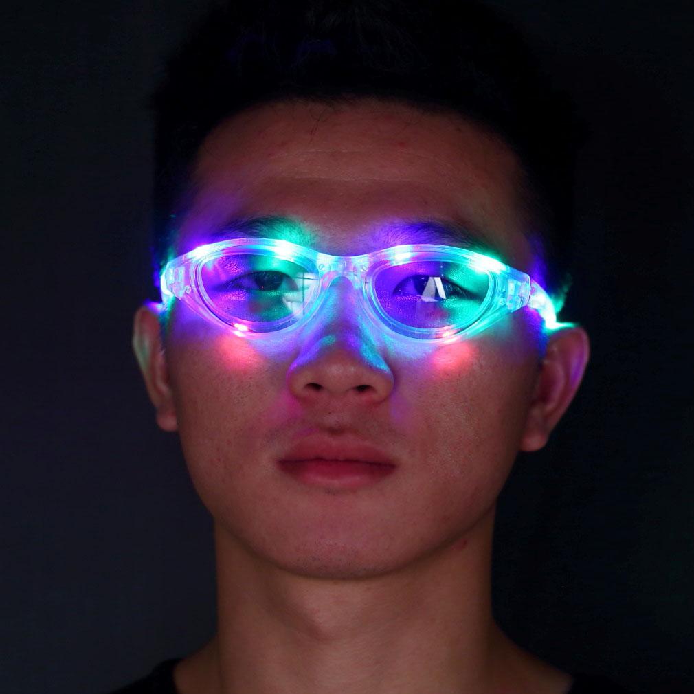 Novelty Flashing LED Party Glasses 5469376